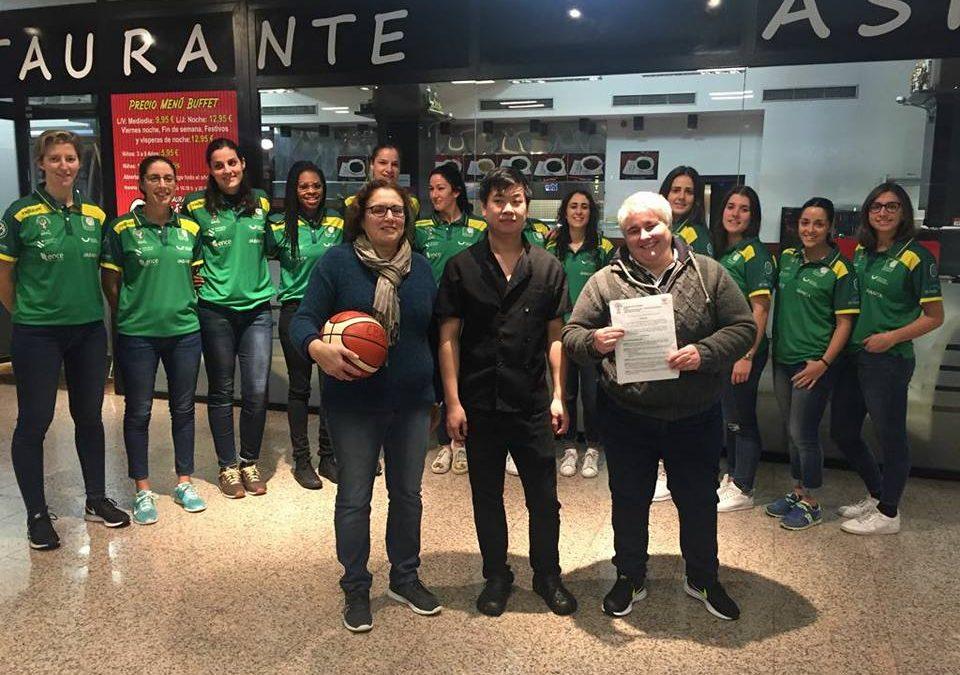 El BUFFET RESTAURANTE ASIA FOOD TO GO y el CLUB BALONCESTO ARXIL, firmaron un convenio de colaboracion para la temporada.
