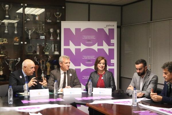 A Xunta incorpora á Federación Galega de Baloncesto á súa campaña de sensibilización contra a violencia de xénero e o arxil estará presente,