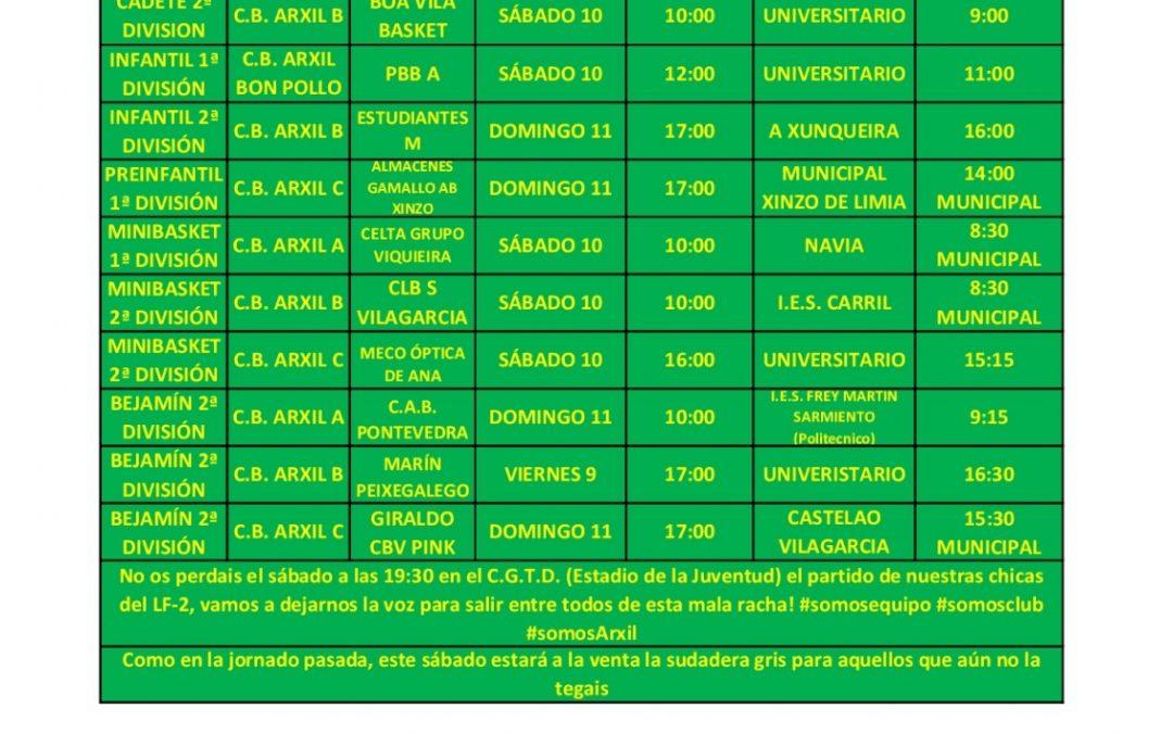 9ª CIRCULAR TEMPORADA 18/19 – 10 Y 11 DE NOVIEMBRE
