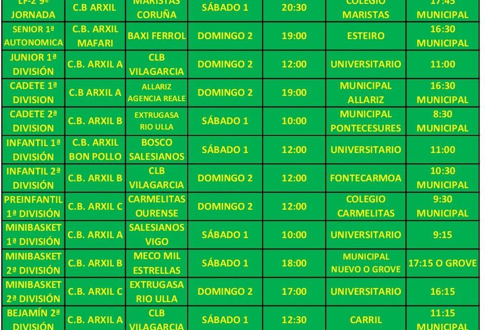12ª CIRCULAR. TEMPORADA 18/19 – 1 Y 2 DE DICIEMBRE