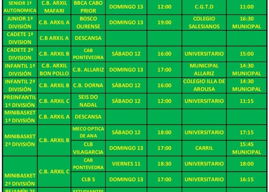 16ª CIRCULAR. TEMPORADA 18/19. 12-13 DE ENERO