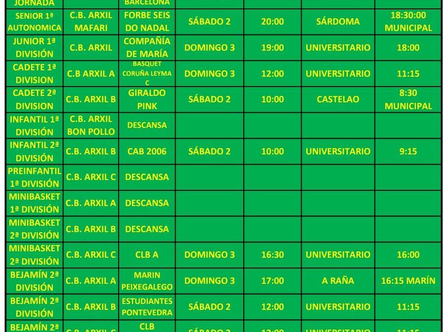 23ª CIRCULAR. TEMPORADA 18/19. 2 Y 3 DE MARZO