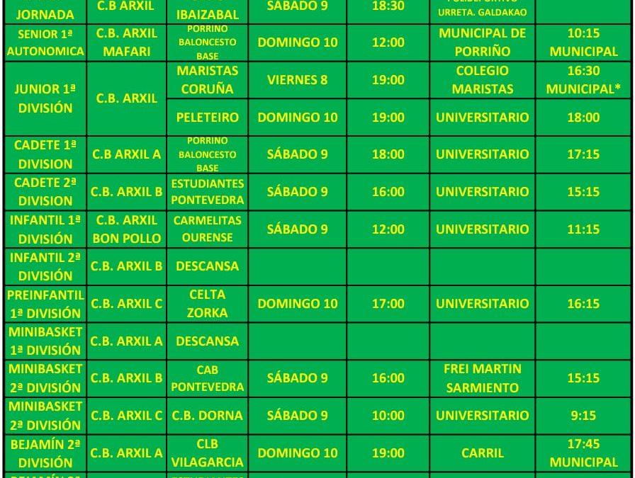 20ª CIRCULAR. TEMPORADA 18/19. 8, 9 Y 10 DE FEBRERO