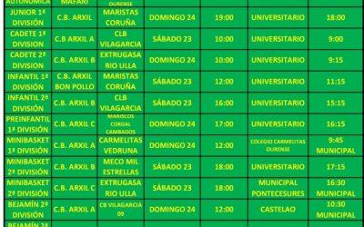 26ª CIRCULAR. TEMPORADA 18/19. 23 Y 24 DE MARZO