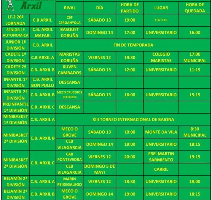 29ª CIRCULAR. TEMPORADA 18/19. 12, 13 Y 14 DE ABRIL