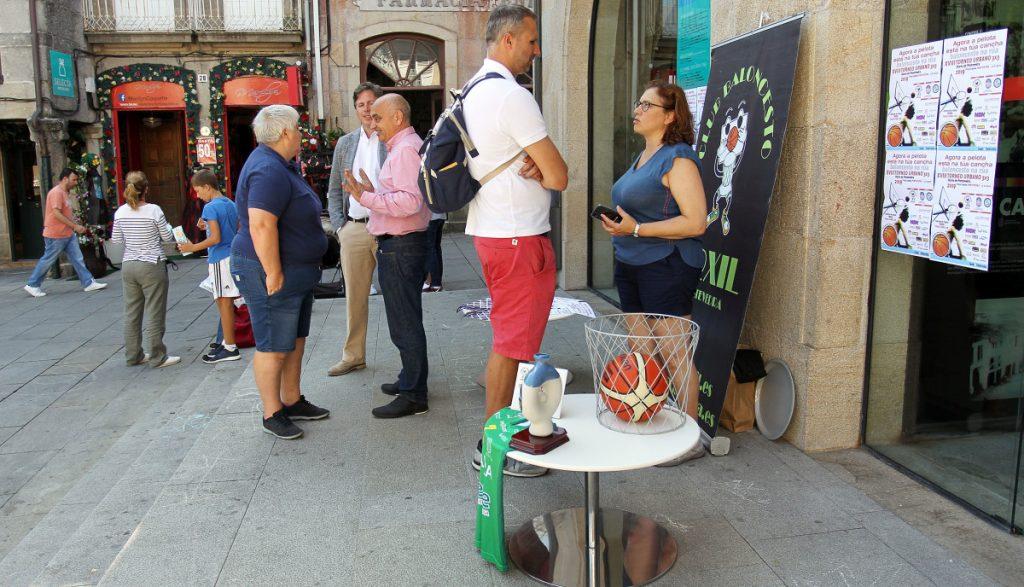 O 'Street Basket' máis solidario celébrase en Pontevedra