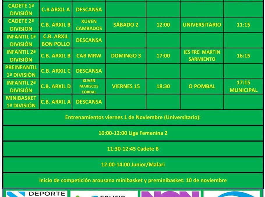 CIRCULAR 8. TEMPORADA 19/20. 2 Y 3 DE NOVIEMBRE