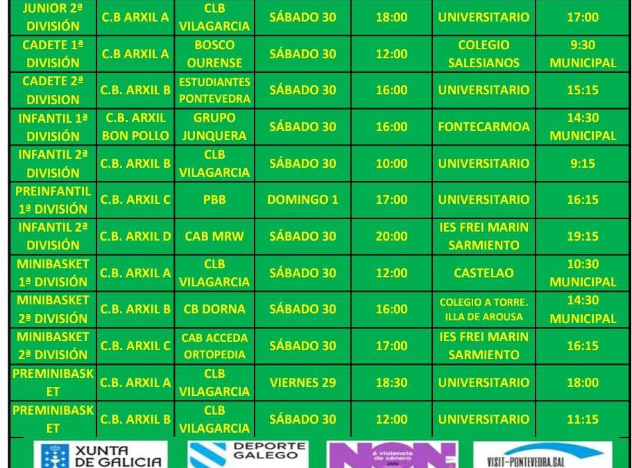 CIRCULAR 12. TEMPORADA 19/20. 30-1 DE NOVIEMBRE