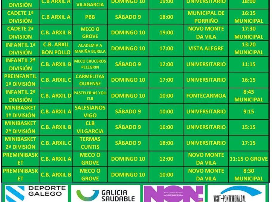 CIRCULAR 9. TEMPORADA 19/20. 9 Y 10 DE NOVIEMBRE