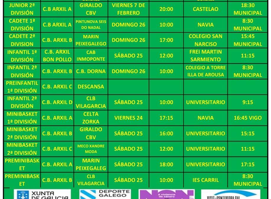 CIRCULAR 17. TEMPORADA 19/20. 24, 25 Y 26 DE ENERO