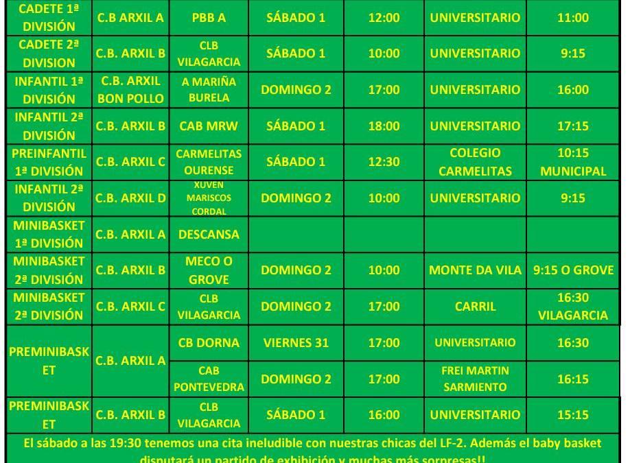 CIRCULAR 18.  TEMPORADA 19/20. 1 Y 2 DE FEBRERO