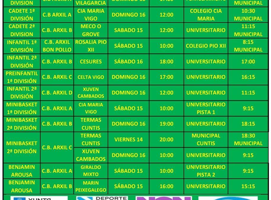 CIRCULAR 20. TEMPORADA 19/20. 14, 15 Y 16 DE FEBRERO