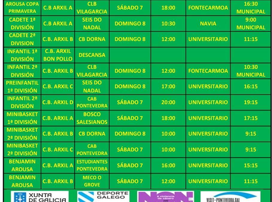CIRCULAR 23. TEMPORADA 19/20. 7 Y 8 DE MARZO