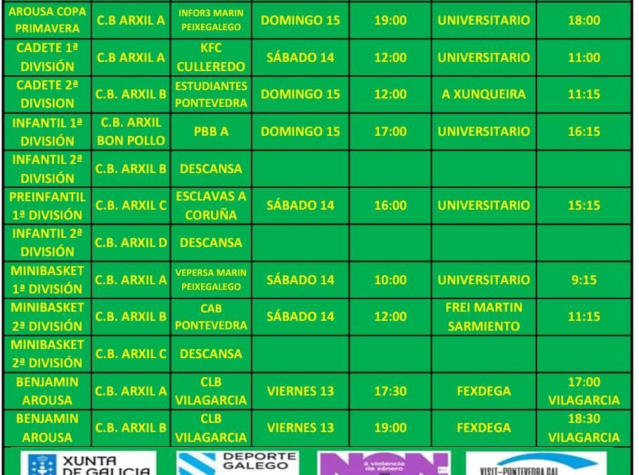 CIRCULAR 24. TEMPORADA 19/20. 14, 14 Y 15 DE MARZO