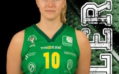 Linnea Rosendal, primeira saída nun CB Arxil  que empeza a planificar a próxima temporada