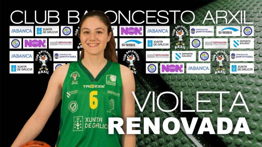 La  alero Violeta Crespo sube al primer equipo del Arxil