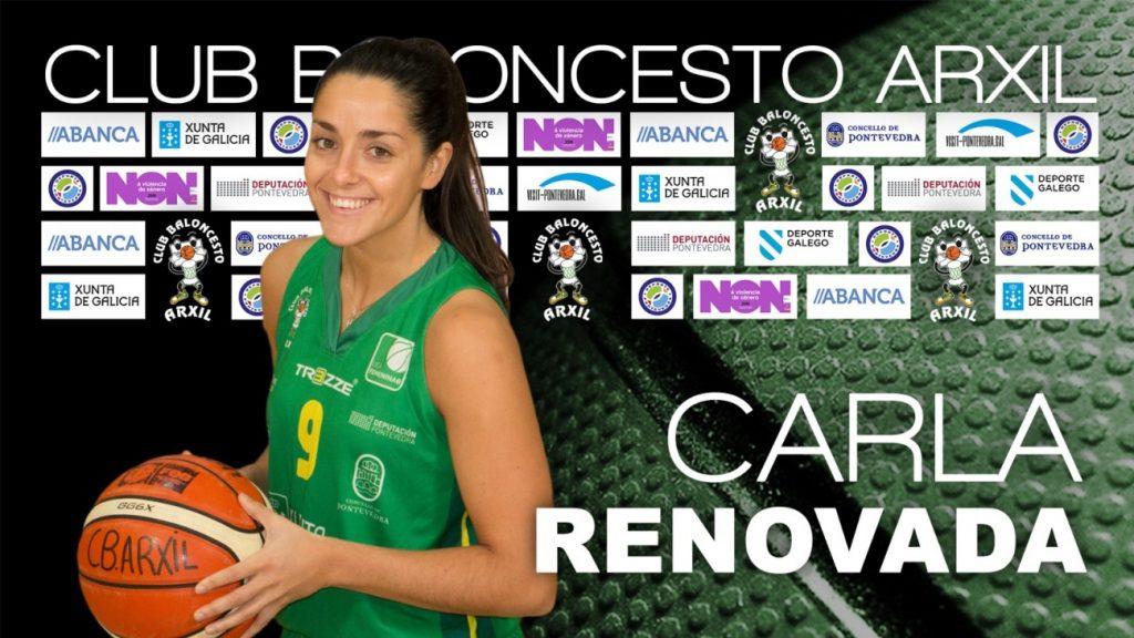 Carla Fernández renueva en el Arxil y alcanzará su undécima temporada en el club