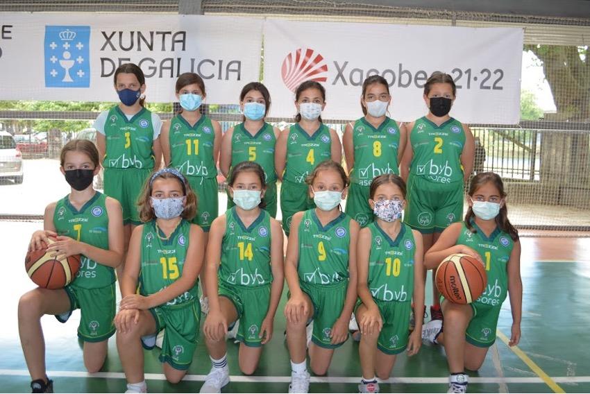 El Club Baloncesto Arxil contará con cuatro equipos en las primeras divisiones gallegas y dos en las ligas Feb